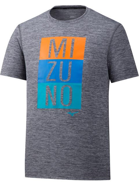 Mizuno Impulse Core - Camiseta Running Hombre - gris